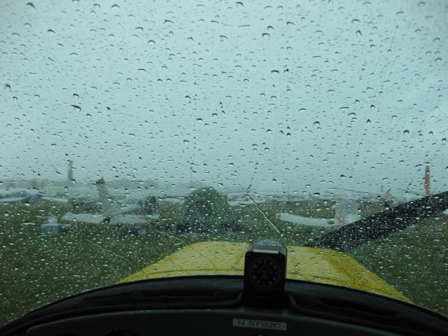 Arrival Rain Shower | AviationBull